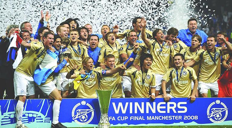 Победный, золотой состав Зенита 2007
