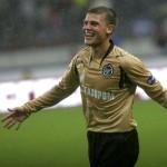 Денисов в золотой форме, финал Кубка УЕФА