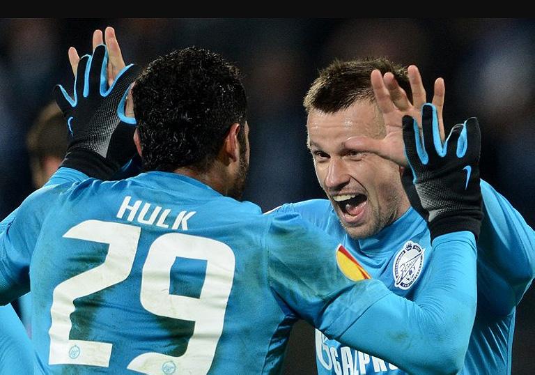 Зенит — Ливерпуль видео, смотреть весь матч 1/16 Лиги Европы 2012/13