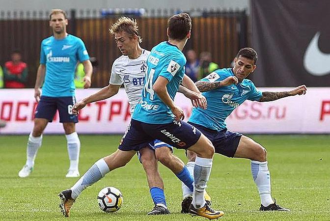 «Зенит» вырвал победу на последней минуте у «Динамо»