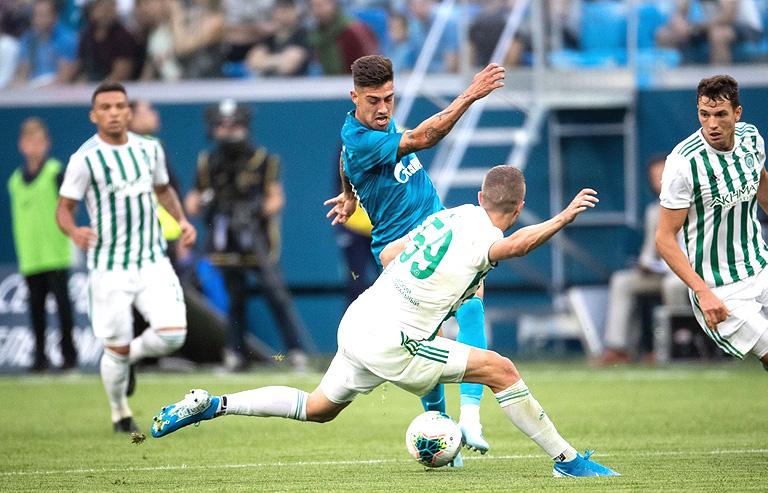 «Зенит» не показал качественный футбол в матче с «Ахматом»