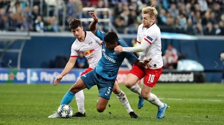 ЗЕНИТ — ЛЕЙПЦИГ 0:2. Лига чемпионов 2019-20. Группа «G», 4-й тур.