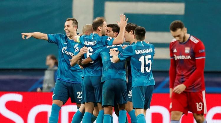 ЗЕНИТ — ЛИОН 2:0. Лига Чемпионов 2019-20. Группа «G», 5-й тур. ФОТО