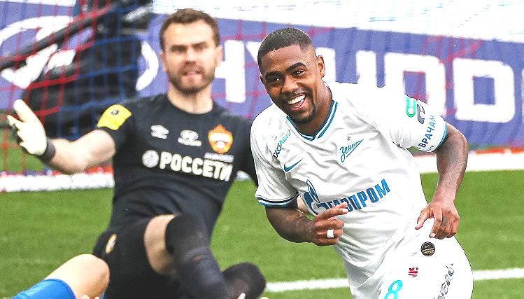 ЗЕНИТ-ЦСКА 0-4