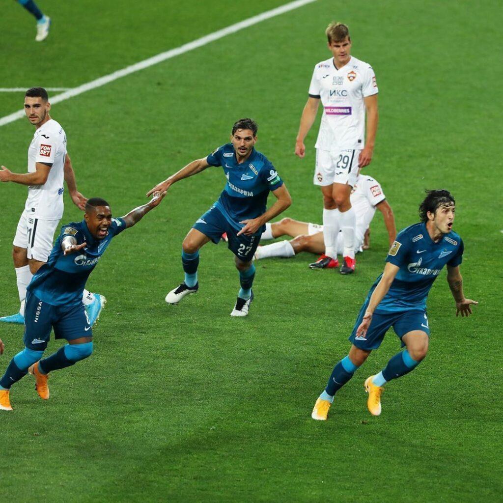 Зенит - ЦСКА 2-1