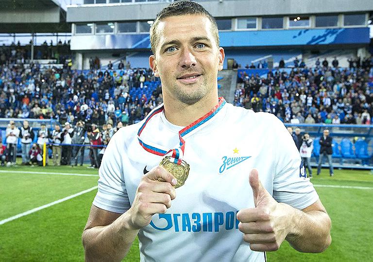 Михаил Кержаков приступил к тренировкам