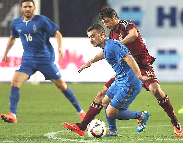 Россия обыграла Азербайджан