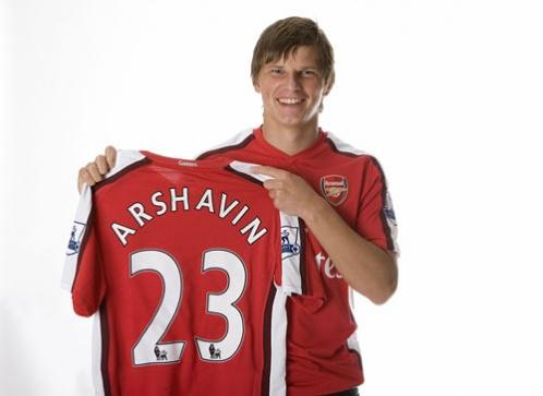 Аршавин лучший в Арсенале