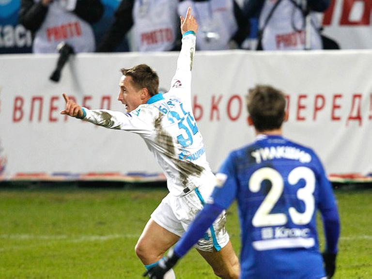 «Зенит» победил столичное «Динамо» в 3-м туре российской премьер лиги
