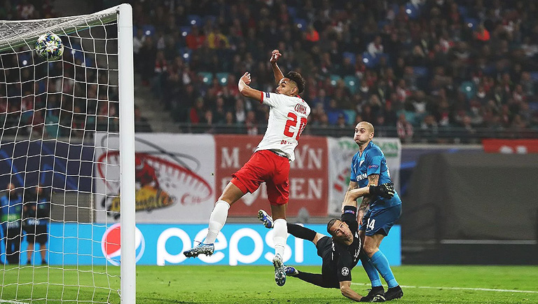 ЛЕЙПЦИГ — ЗЕНИТ 2:1. Лига чемпионов 2019-20. Группа «G», 3-й тур.