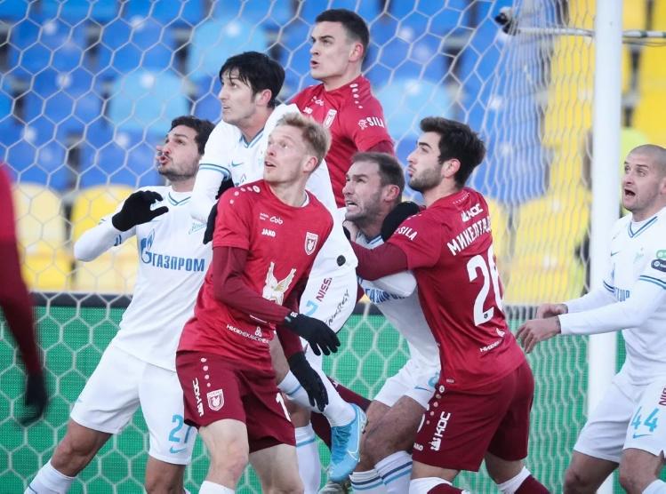 РУБИН — ЗЕНИТ 1:2. Чемпионат России 2019-20, 17-й тур.
