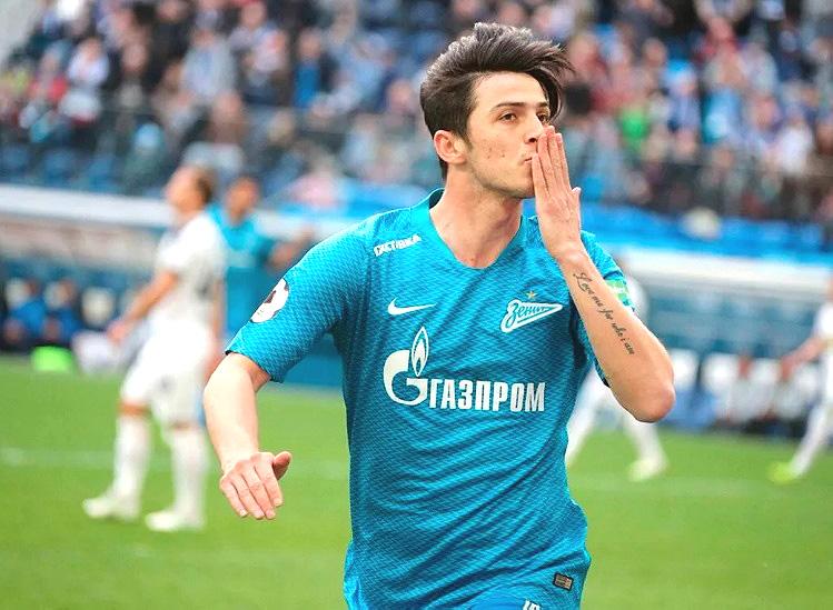 Сердар Азмун забил 3 гола, интервью на «ЗЕНИТ-ТВ»