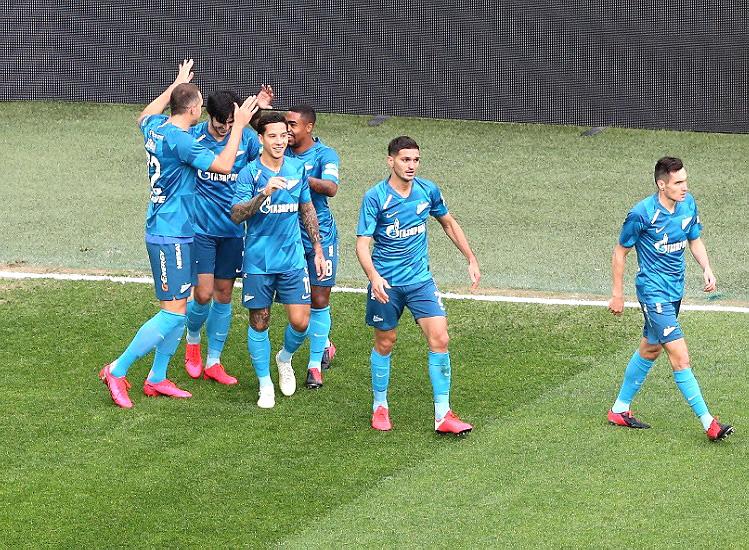 ЗЕНИТ — УРАЛ 7:1. Чемпионат России 2019-20, 22-й тур