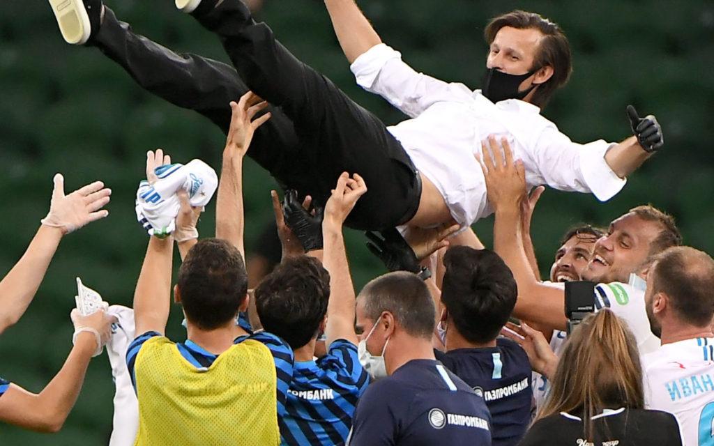 Зенит выиграл чемпионат России 2019/20