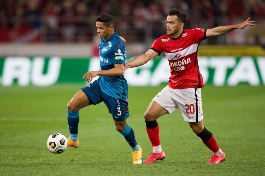 Spartak-Zenit 1:1, 10 tur