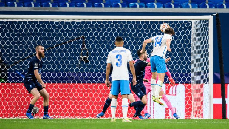ЗЕНИТ — МАЛЬМЕ 4:0, Лига чемпионов. Группа «H», 2-й тур.